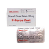 P Force I Sildenafil Citrate Uses, Side Effects, Dosage