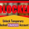 The Best and Amazing Way to Unlock Your Temporary Blocked Yahoo Account - Must See!!!