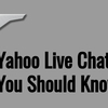 Yahoo Live Chat - Resolve any Yahoo Related Issues!!!